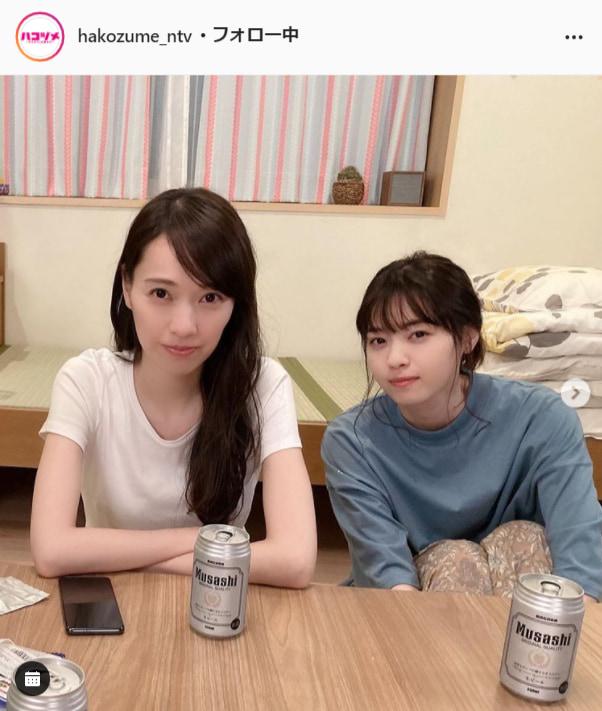 『ハコヅメ~たたかう!交番女子~』公式Instagram(hakozume_ntv)より