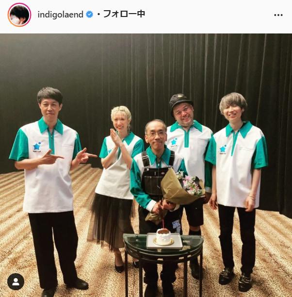 川谷絵音公式Instagram(indigolaend)より