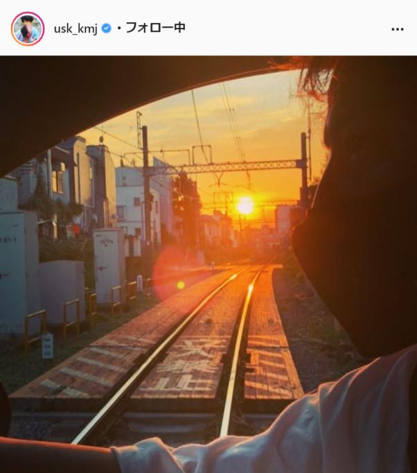 上地雄輔公式Instagram(usk_kmj)より