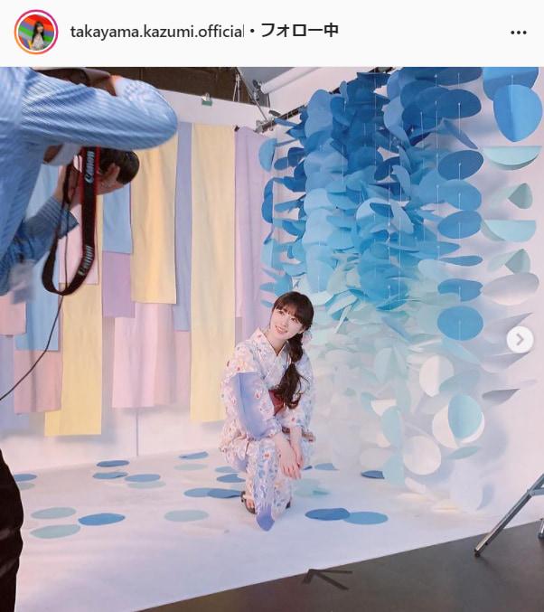 乃木坂46・高山一実公式Instagram(takayama.kazumi.official)より