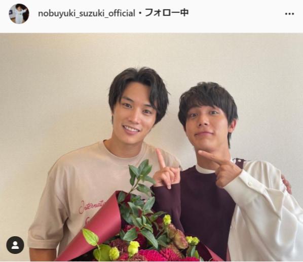 鈴木伸之公式Instagram(nobuyuki_suzuki_official)より