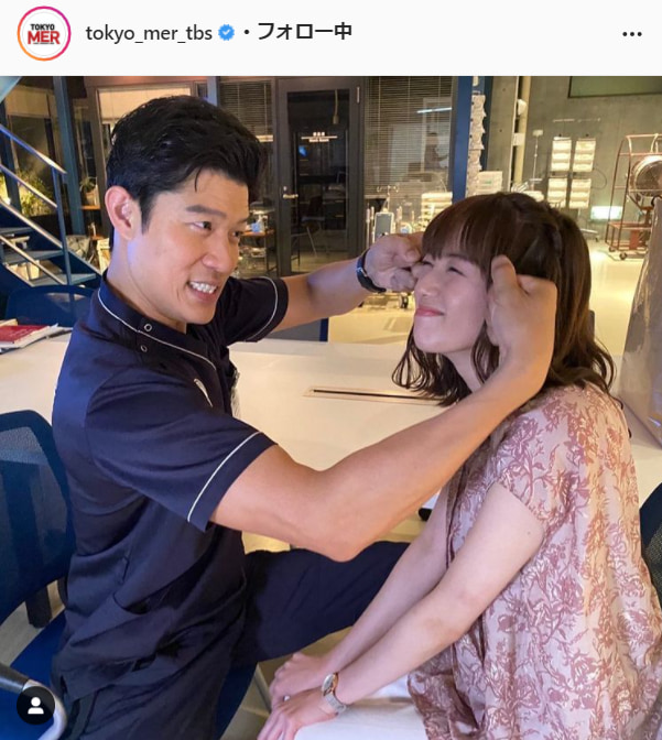 『TOKYO MER~走る緊急救命室~』公式Instagram(tokyo_mer_tbs)より