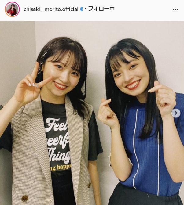 モーニング娘。'21・森戸知沙希公式Instagram(chisaki__morito.official)より