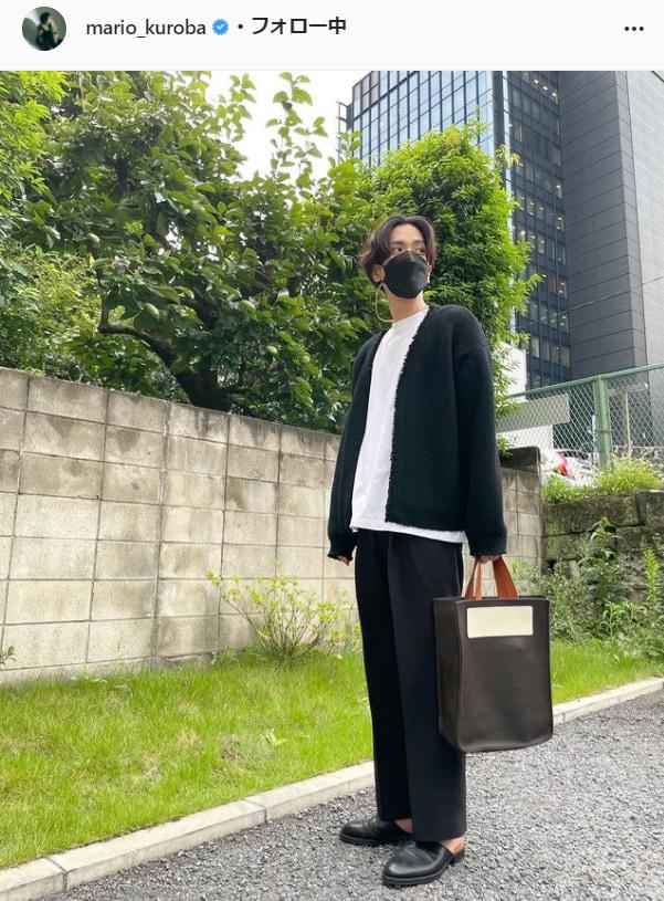 黒羽麻理央公式Instagram(mario_kuroba)より