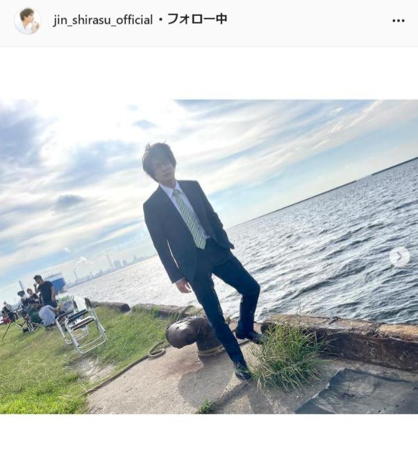 白洲迅公式Instagram(jin_shirasu_official)より