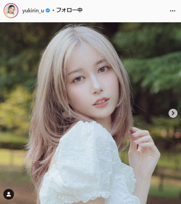 ゆきりぬ公式Instagram(yukirin_u)より