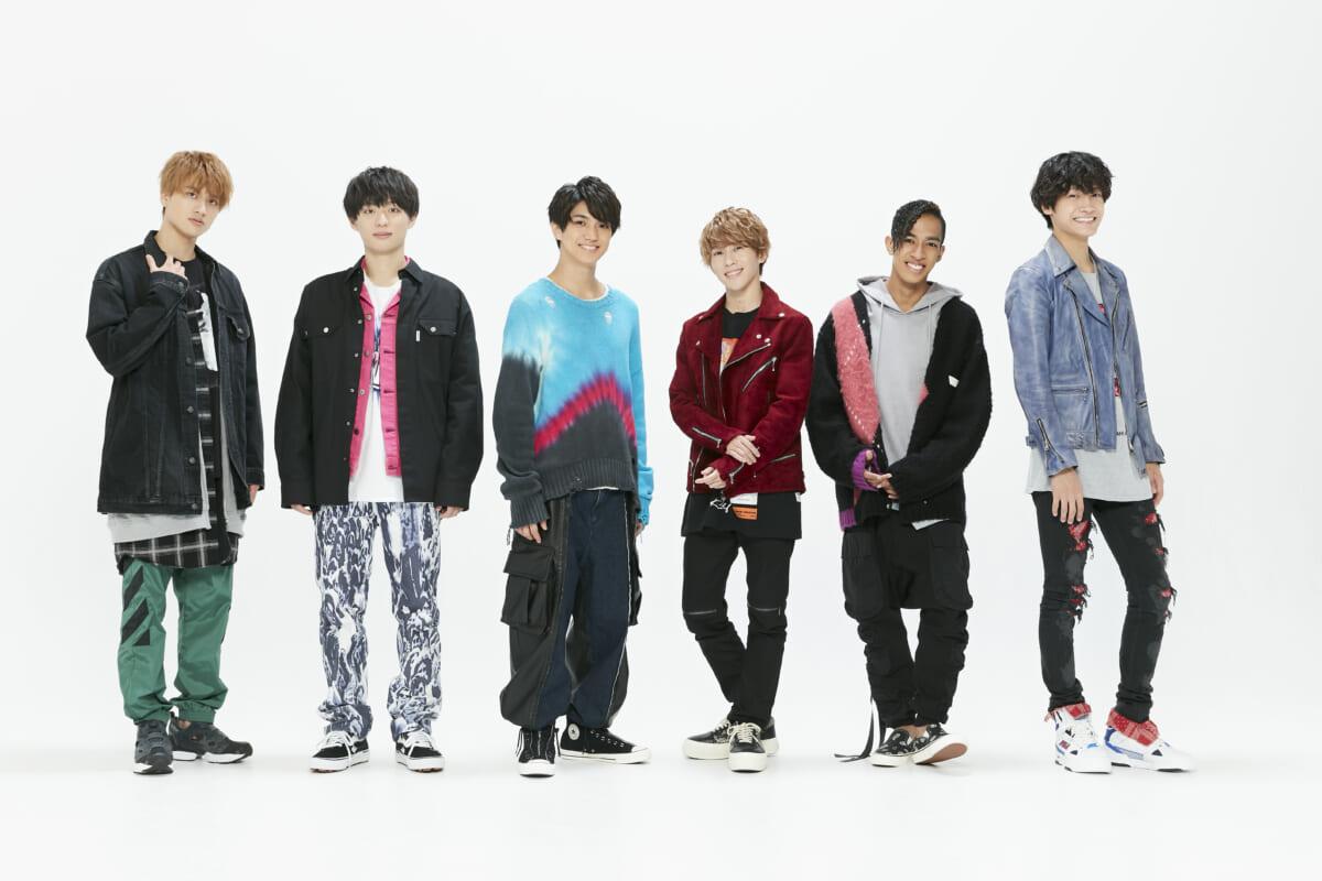Aぇ! group(左から小島健・福本大晴・正門良規・末澤誠也・草間リチャード敬太・佐野晶哉)