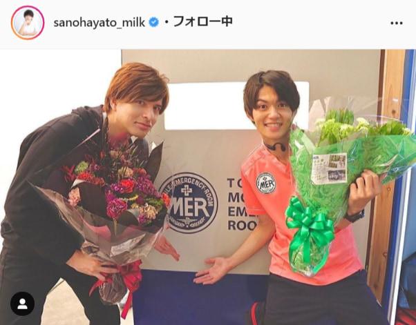 M!LK佐野勇斗公式Instagram(sanohayato_milk)より