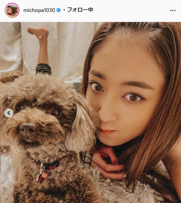 池田美優公式Instagram(michopa1030)より