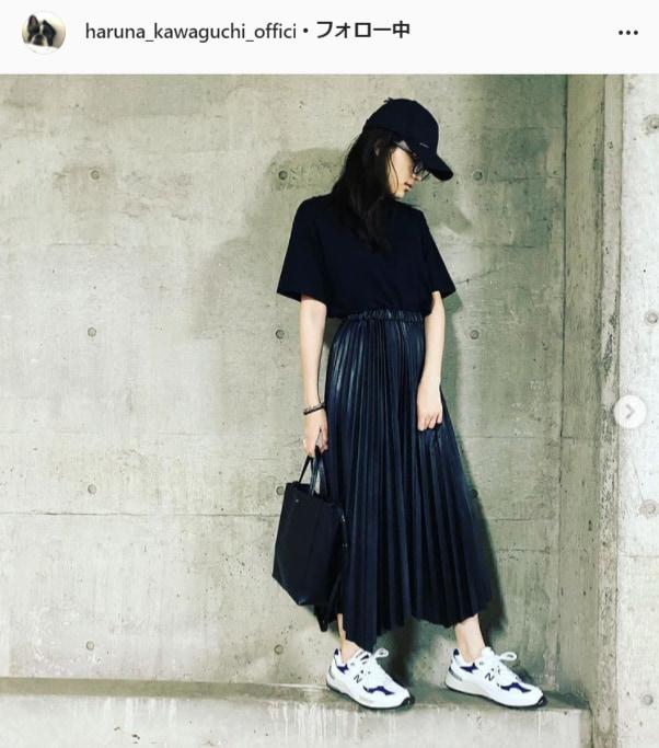 川口春奈公式Instagram(haruna_kawaguchi_official)より