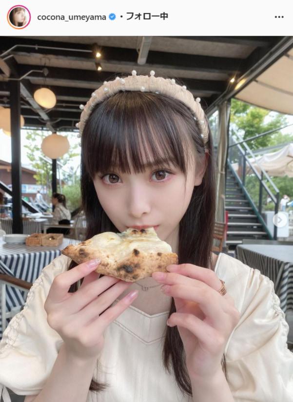 NMB48・梅山恋和公式Instagram(cocona_umeyama)より