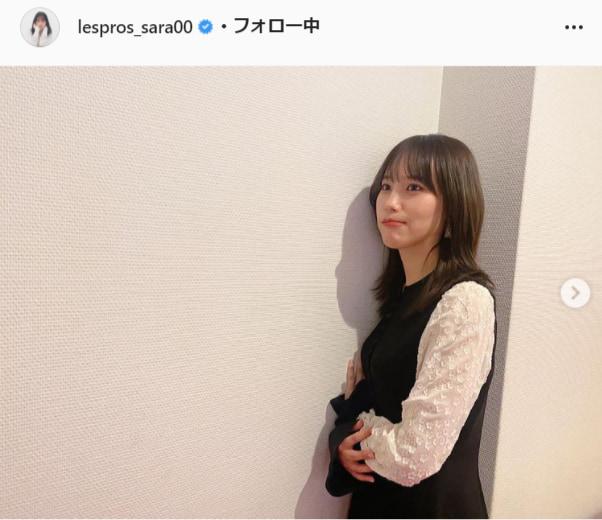 南沙良公式Instagram(lespros_sara00)より