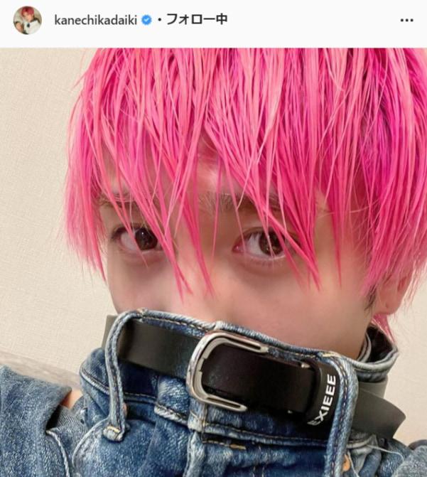 EXIT・兼近大樹公式Instagram(kanechikadaiki)より