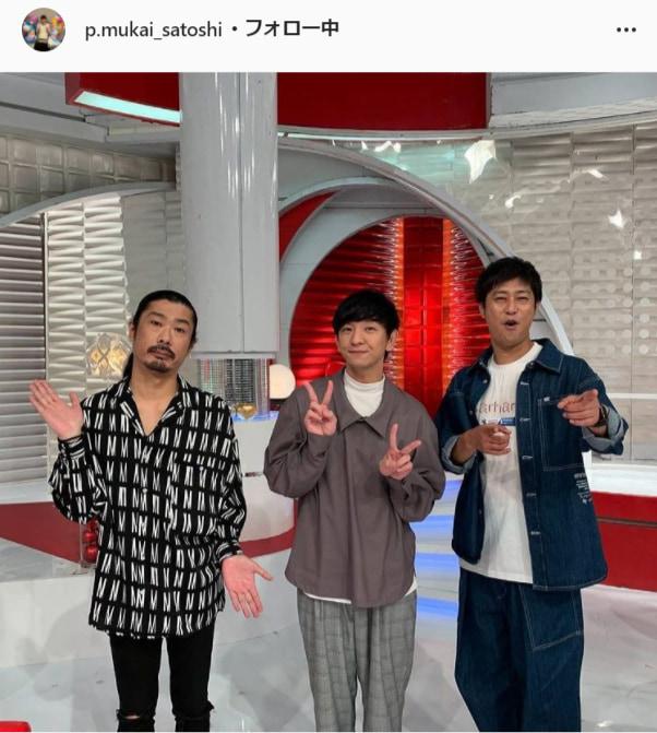 パンサー・向井慧公式Instagram(p.mukai_satoshi)より