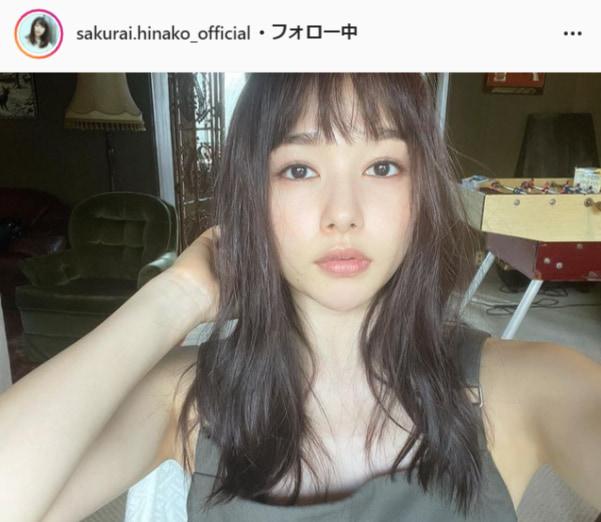 桜井日奈子公式Instagram(sakurai.hinako_official)より