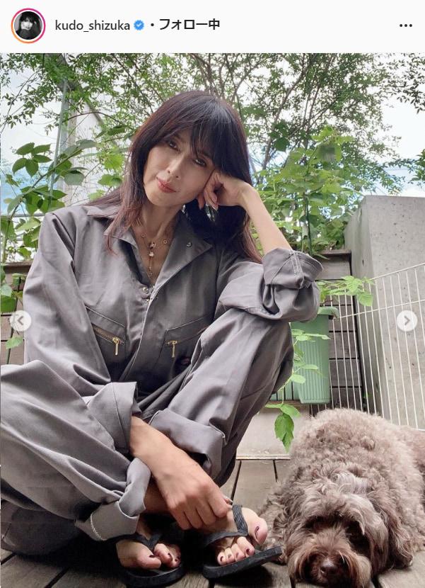 工藤静香公式Instagram(kudo_shizuka)より