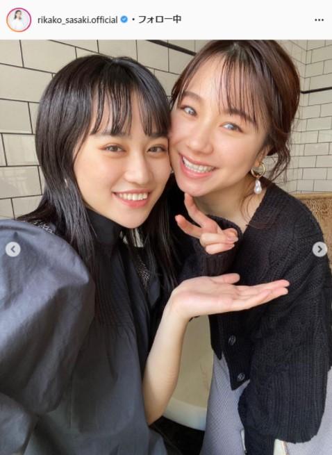 アンジュルム・佐々木莉佳子公式Instagram(rikako_sasaki.official)より