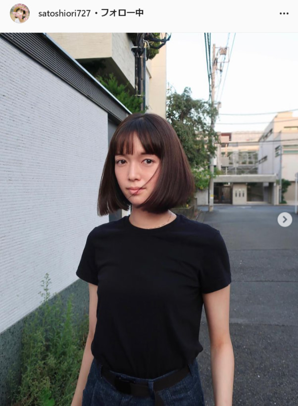佐藤栞里公式Instagram(satoshiori727)より