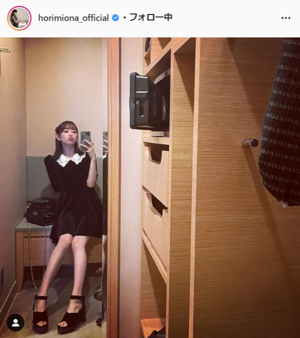堀未央奈公式Instagram(horimiona_official)より