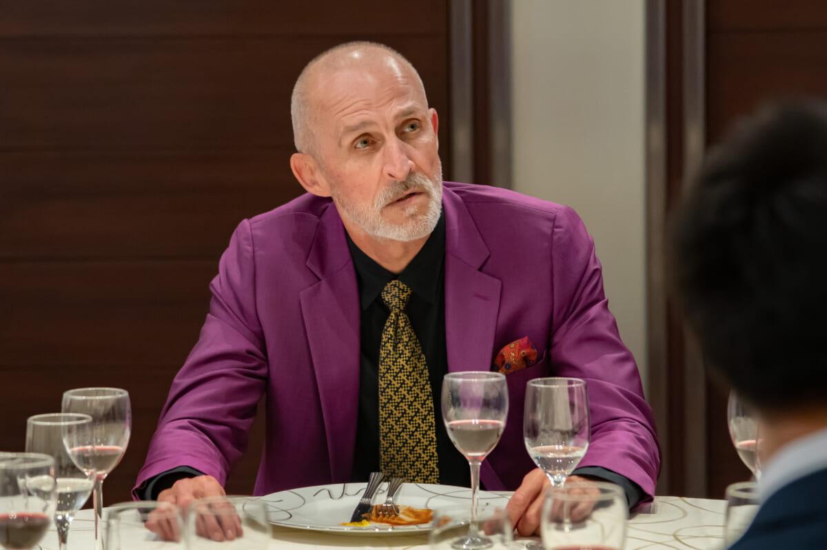 『トーキョー製麺所』第6話ゲストのイアン・ムーア