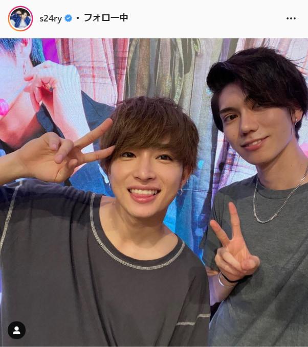 曽田陵介公式Instagram(s24ry)より