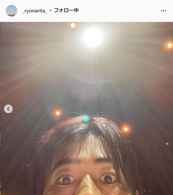 成田凌公式Instagram(_ryonarita_)より