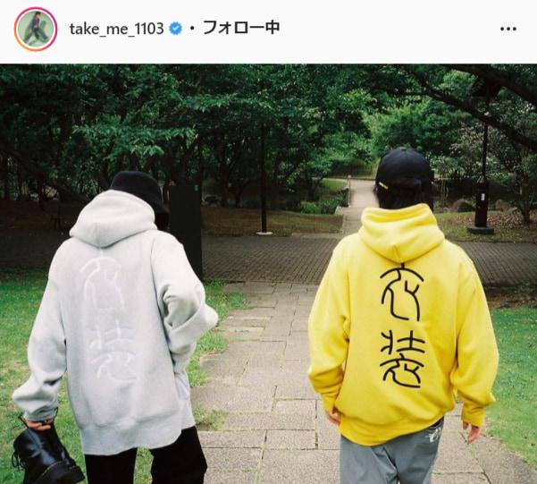 DISH//・北村匠海公式Instagram(take_me_1103)より