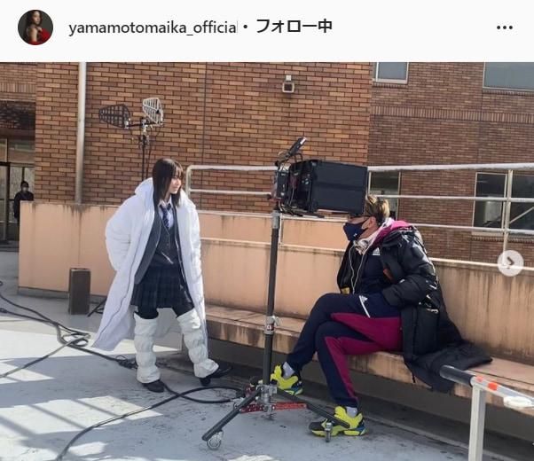 山本舞香公式Instagram(yamamotomaika_official)より