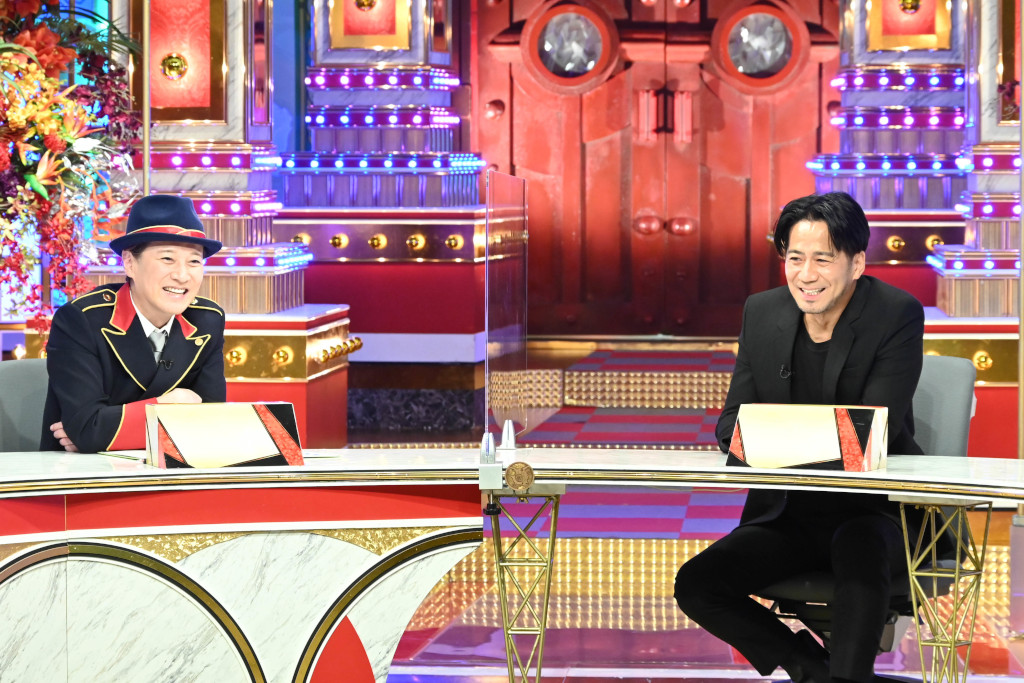 2人きりで対談を行ったMC・中居正広(左)と EXILE HIRO(右)