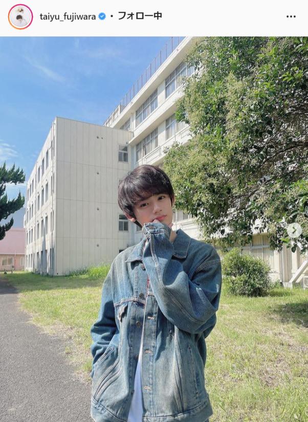 藤原大祐公式Instagram(taiyu_fujiwara)より