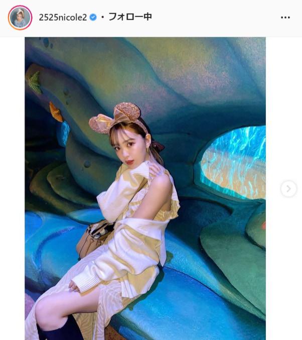 藤田ニコル公式Instagram(2525nicole2)より