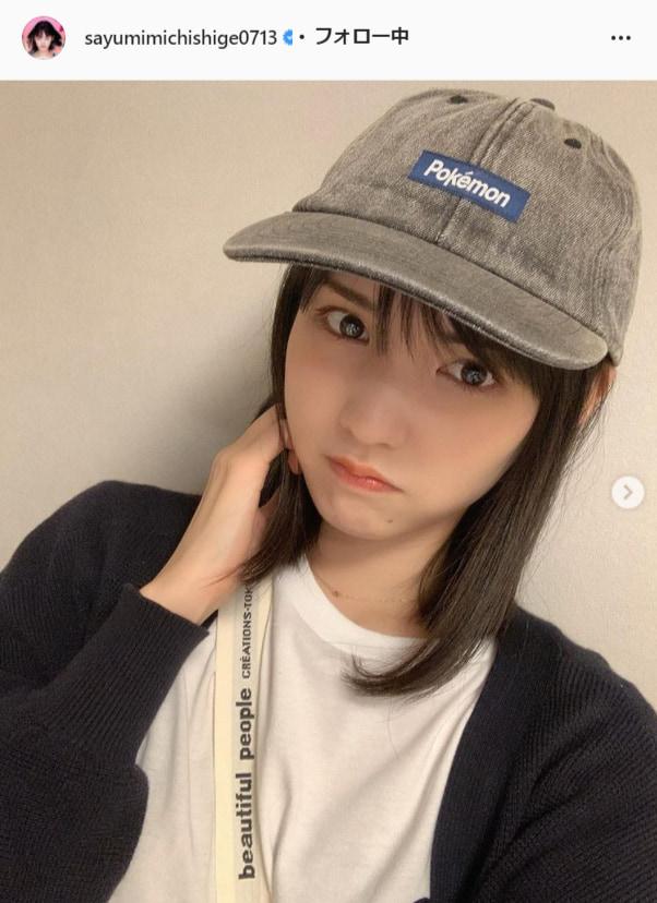 道重さゆみ公式Instagram(sayumimichishige0713)より