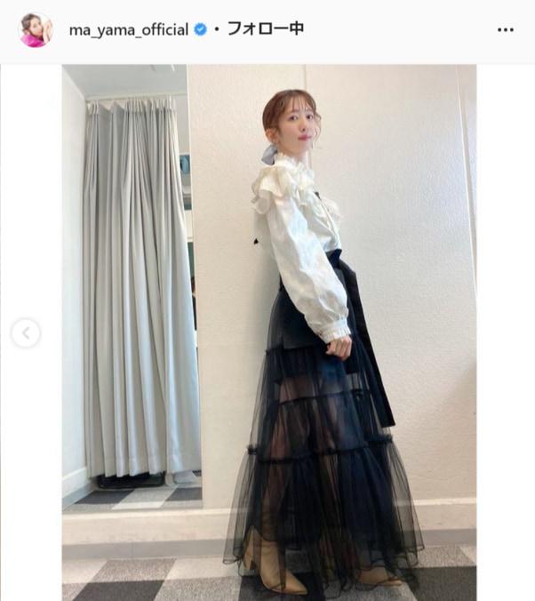 私立恵比寿中学・真山りか公式Instagram(ma_yama_official)より