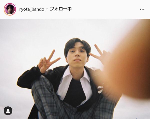 坂東龍汰公式Instagram(ryota_bando)より