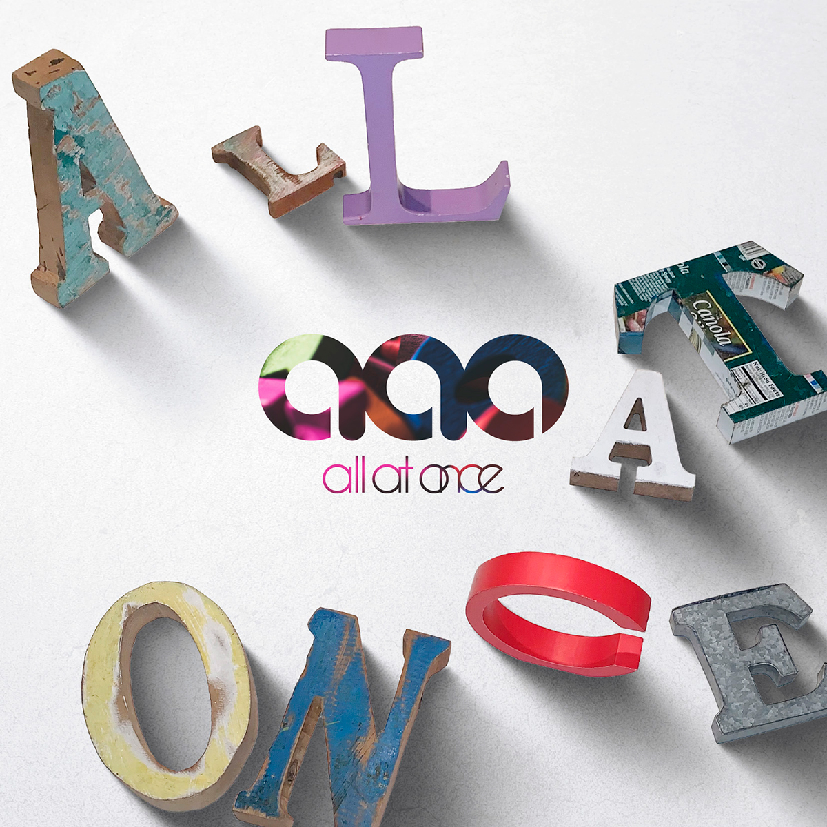 all at once 1st Album「ALL AT ONCE」初回限定盤