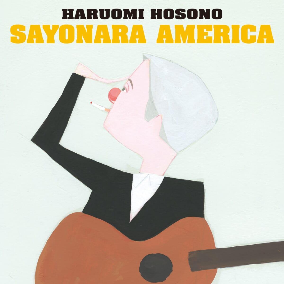 """本作テーマ曲 配信ジャケット(c)2021""""HARUOMI HOSONO SAYONARA AMERICA""""FILM PARTNERS  ARTWORK TOWA TEI & TOMOO GOKITA"""