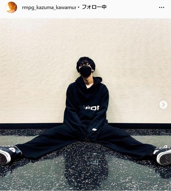 THE RAMPAGE・川村壱馬公式Instagram(rmpg_kazuma_kawamura)より