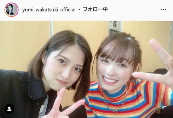 若月佑美公式Instagram(yumi_wakatsuki_official)より