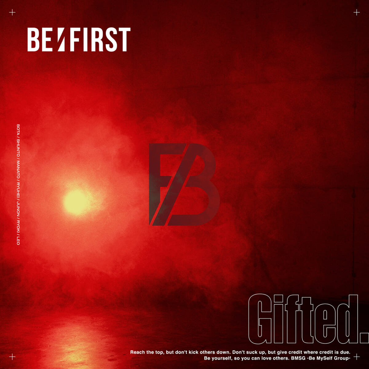 BE:FIRST「Gifted.」