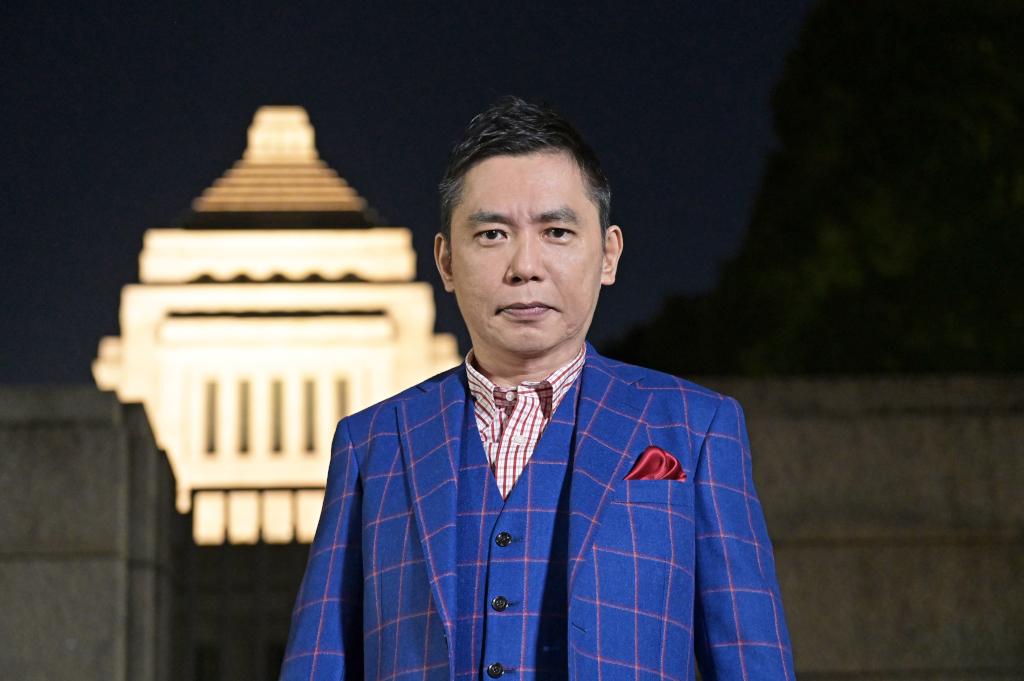 スペシャルMCを務める爆笑問題の太田光。与野党問わず政治家に忖度なしで切り込む