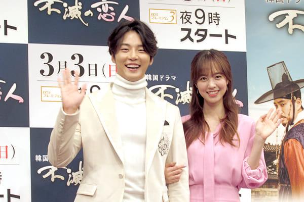 韓国ドラマ『不滅の恋人』ユン・シユン&チン・セヨンが撮影の裏側明かす「全く泳げてなかった」