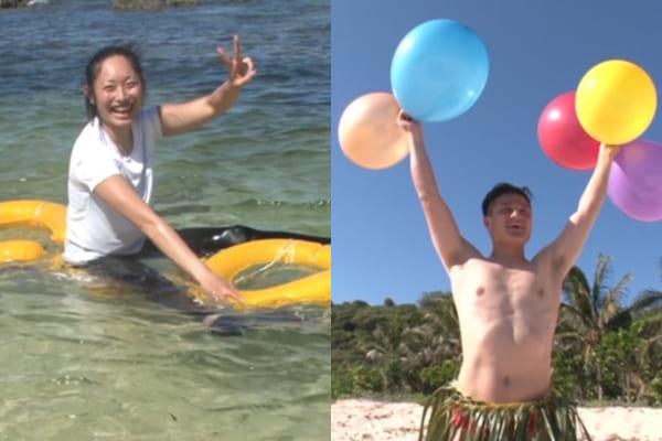 安藤美姫とティモンディ高岸が無人島脱出で対決!